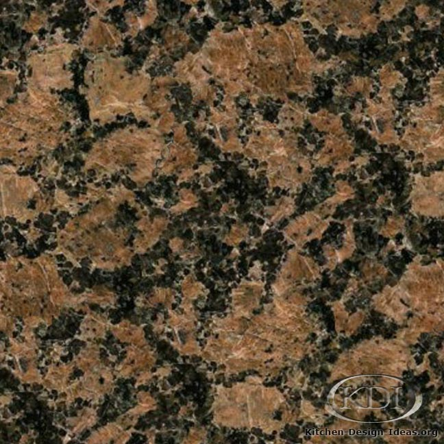 Granite Types : Granite Countertop Colors - Brown Granite