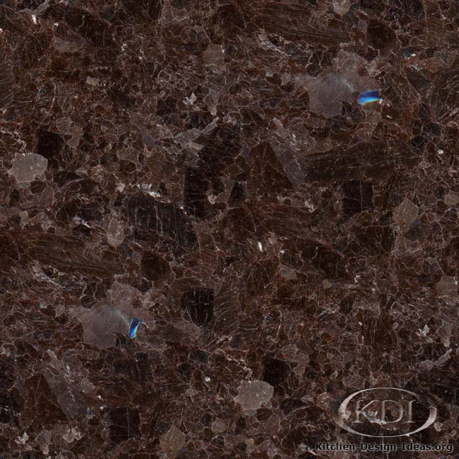 Dark Brown Granite Colors : Granite countertop colors brown