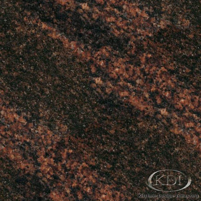 Red And Black Granite : Granite countertop colors red