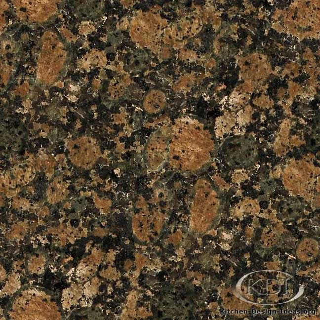 Dark Granite Countertops : Baltic Brown Dark Granite - Kitchen Countertop Ideas
