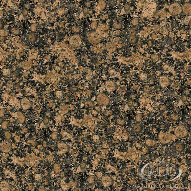 Granite Countertop Colors - Brown Granite