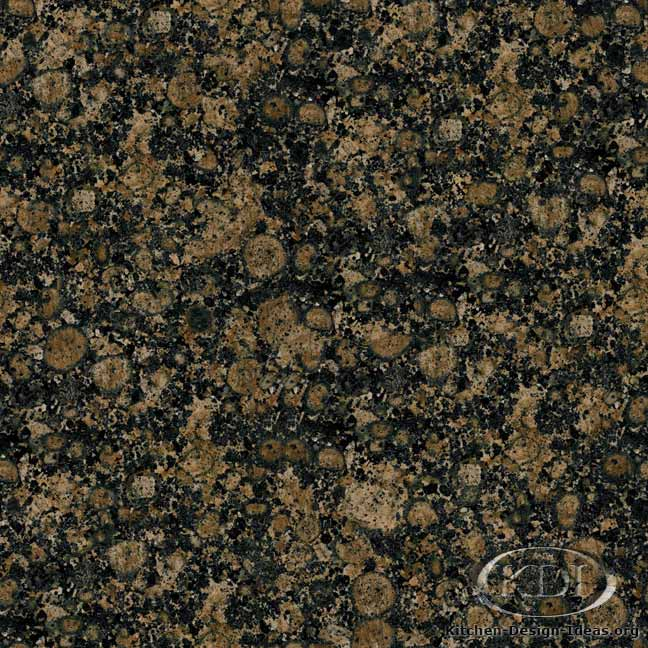 Baltic Brown Granite : Granite Countertop Colors - Brown Granite