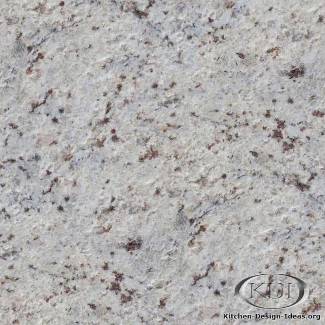 Bianco romano granite riverwashed kitchen countertop ideas for Granito blanco romano