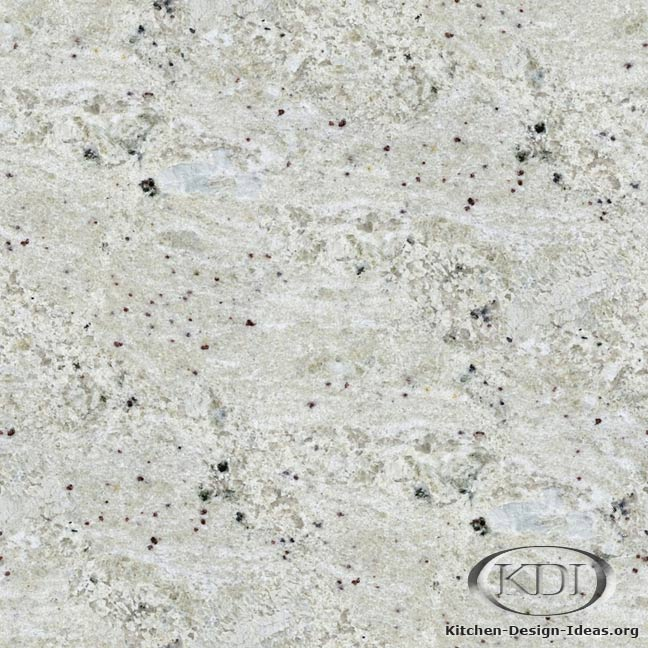 Bianco Romano Granite Kitchen Countertop Ideas