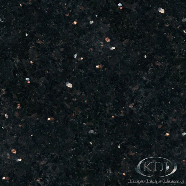 black galaxy granite kitchen countertop ideas