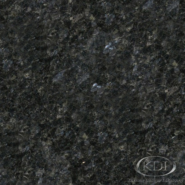 Black Ice Dapple Granite Kitchen Countertop Ideas
