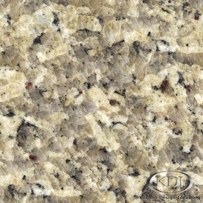 Brazilian Gold Granite Kitchen Countertop Ideas