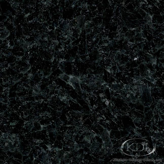 Cambrian Black Granite : Absolute black granite kitchen countertop ideas