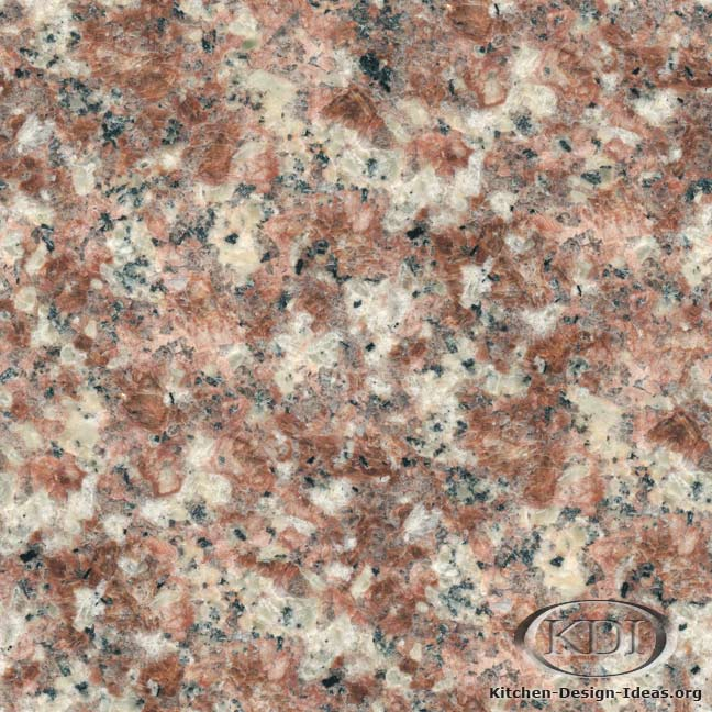 China Peach Red Granite