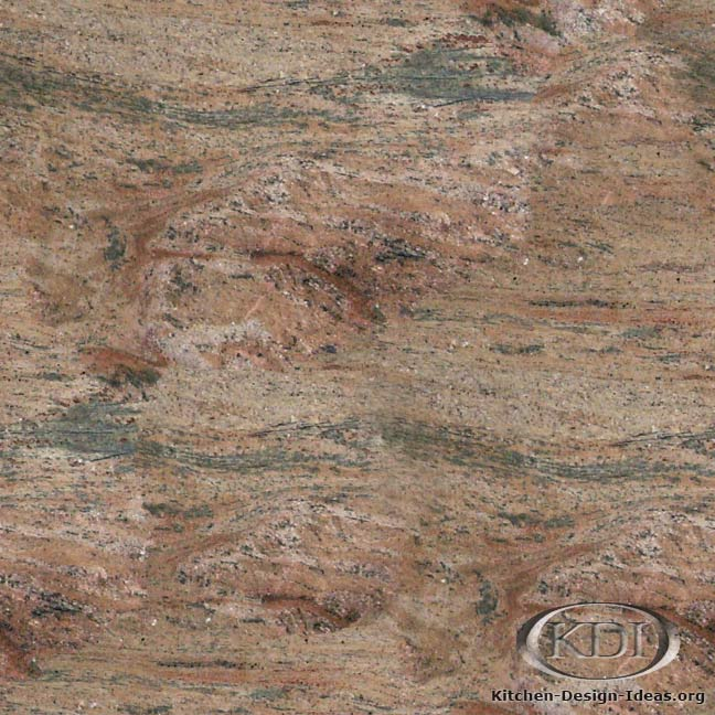 Desert Rose Granite India Kitchen Countertop Ideas