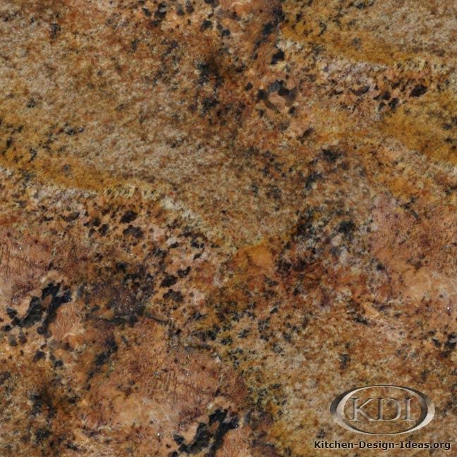 Red Granite Countertop : Diamond Red Granite - Kitchen Countertop Ideas