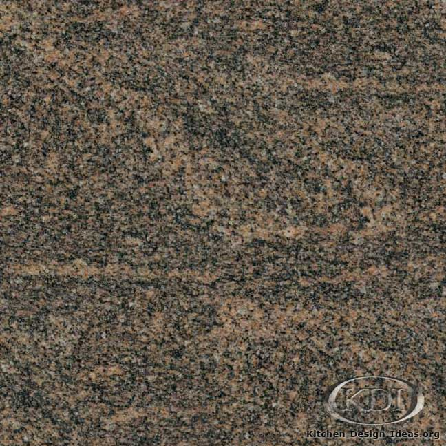 English Brown Granite : English teak granite kitchen countertop ideas