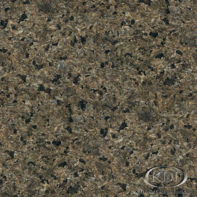 Forest Green Granite - Kitchen Countertop Ideas