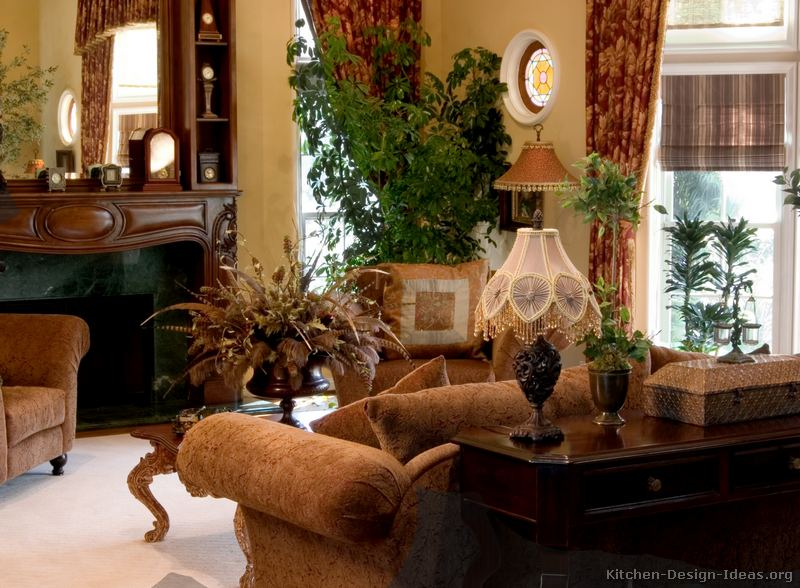 French country decor home christmas decoration - Country decorating ideas for living rooms ...