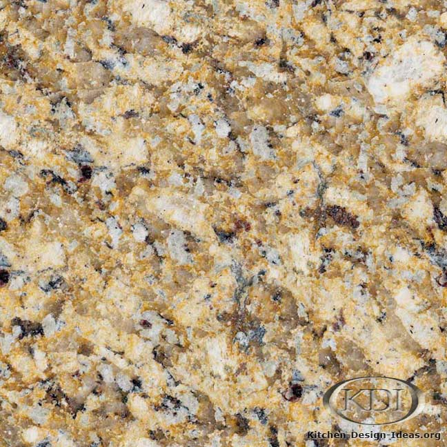 Giallo Reale Granite Kitchen Countertop Ideas