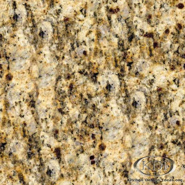 Giallo santa cecilia gold granite kitchen countertop ideas for Granito santa cecilia