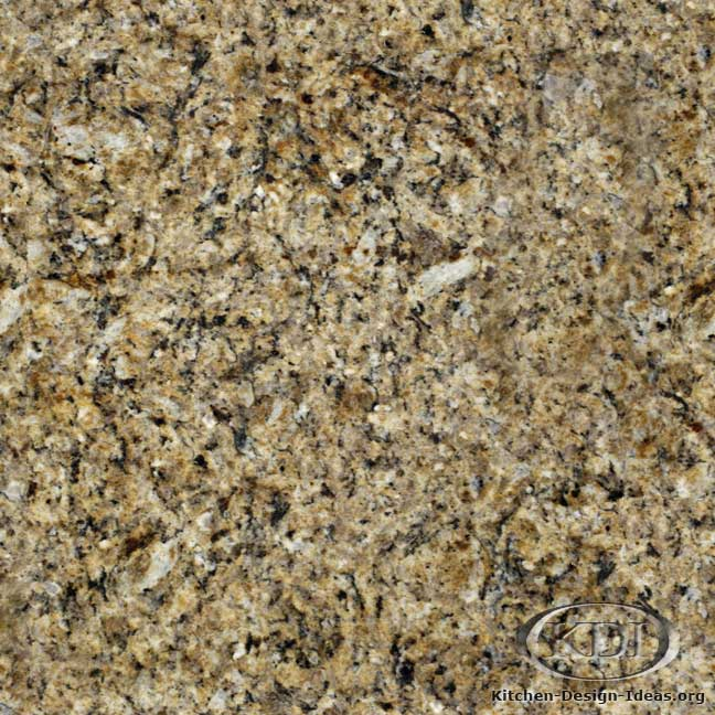 Giallo Santa Cecilia Granite Kitchen Countertop Ideas