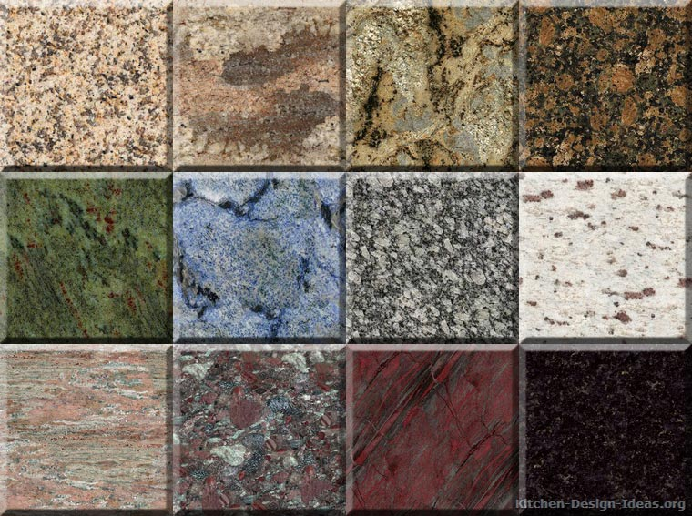 Granite Countertop Colors - Gallery - Kitchen Design Ideas