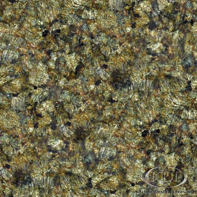 Green and Gold Granite
