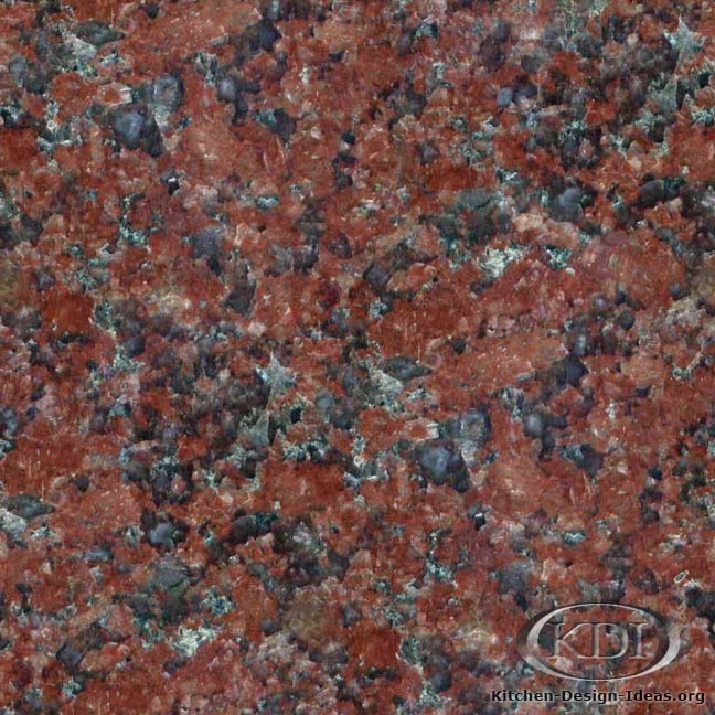 India Red Granite Kitchen Countertop Ideas
