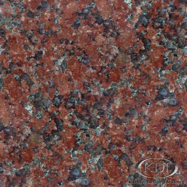Indian Red Granite - Kitchen Countertop Ideas