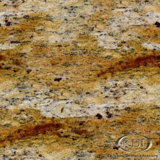 Juparana Dorado Granite Kitchen Countertop Ideas