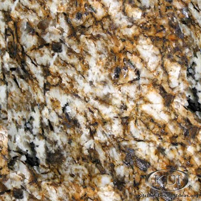 Juparana White and Gold Granite