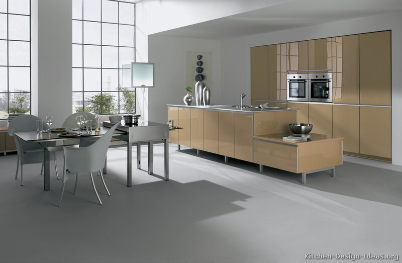 Superior Modern Beige Kitchen