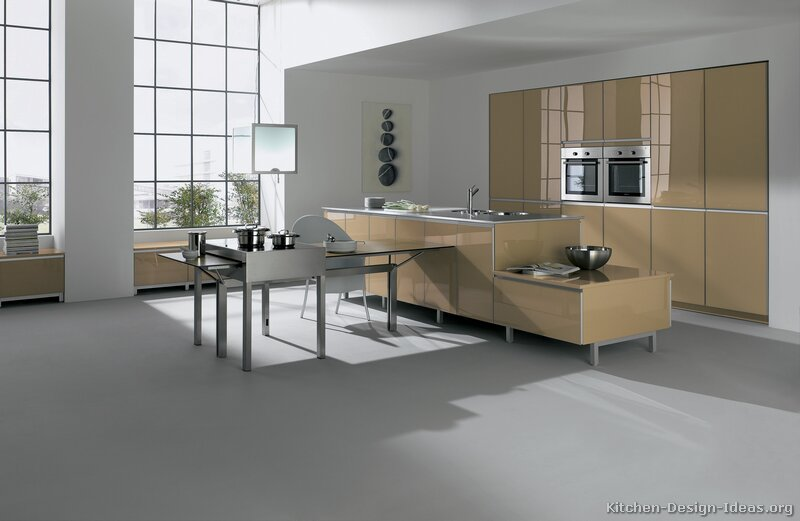 Pictures Of Kitchens Modern Beige Kitchen Cabinets Kitchen 2