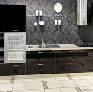 Modern Black Kitchens