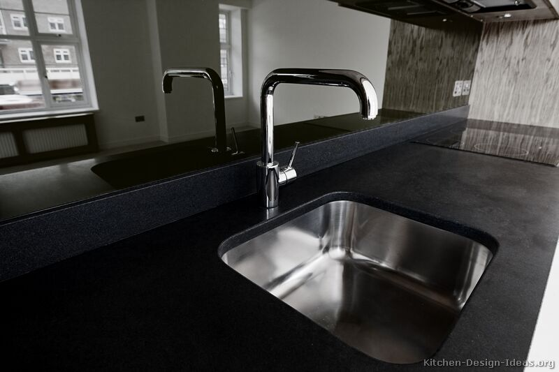 Kitchen Design Black pictures of kitchens - modern - black kitchen cabinets