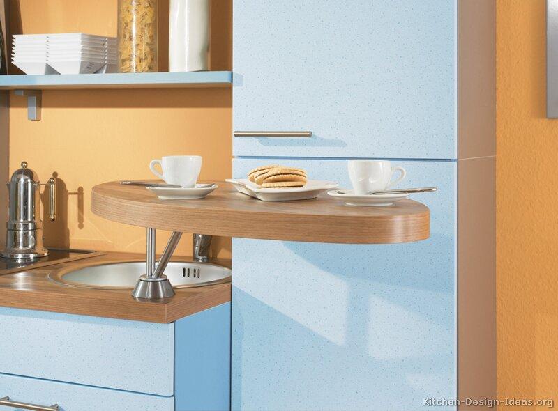 Pictures of Kitchens  Modern  Blue Kitchen Cabinets (Kitchen #2)