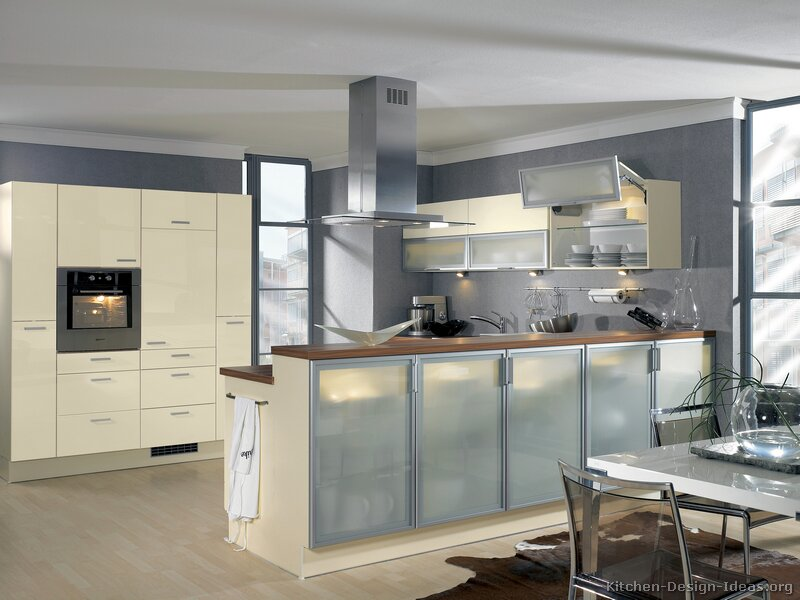 Pictures of Kitchens Modern Cream