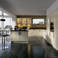 Modern Antique White Kitchens