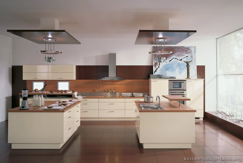 of Kitchens  Modern  Cream  Antique White Kitchens (Kitchen #13