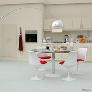 Modern Antique White Kitchen