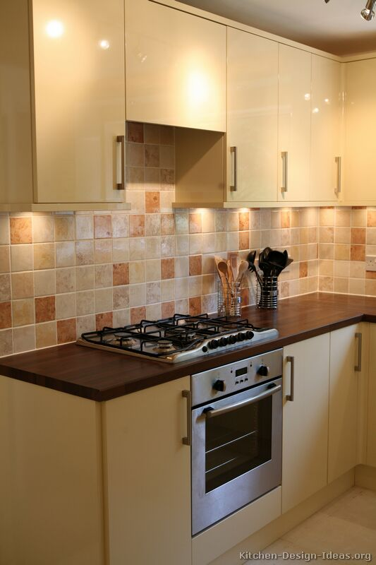 Kitchen wall tiles for cream kitchens kitchen design ideas Tiling a kitchen wall design ideas