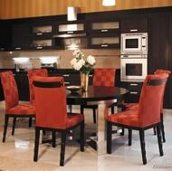 Modern Dark Wood Kitchen