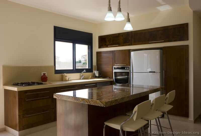 Kitchen gallery modern dark wood kitchens kitchen 6
