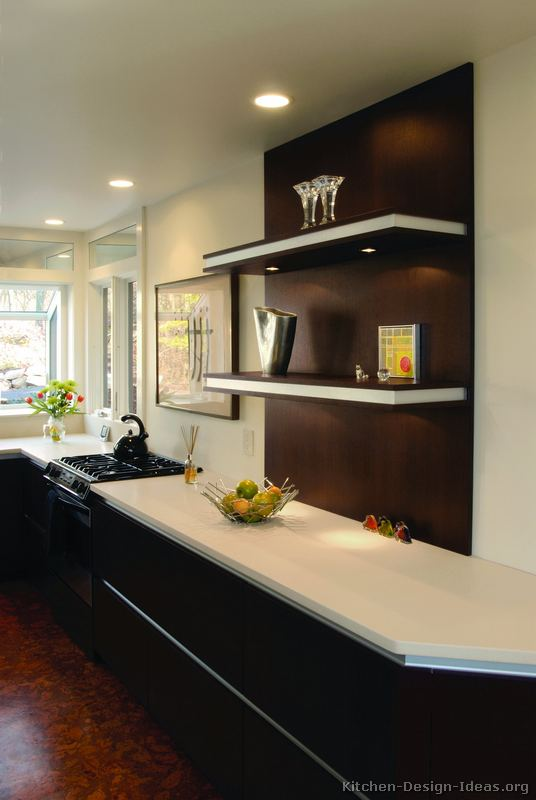 Gray Room Design Ideas: Contemporary Kitchen Cabinets