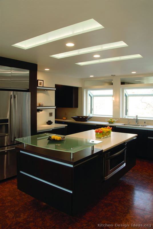 Pictures Of Kitchens Modern Dark Wood Kitchens Kitchen 37