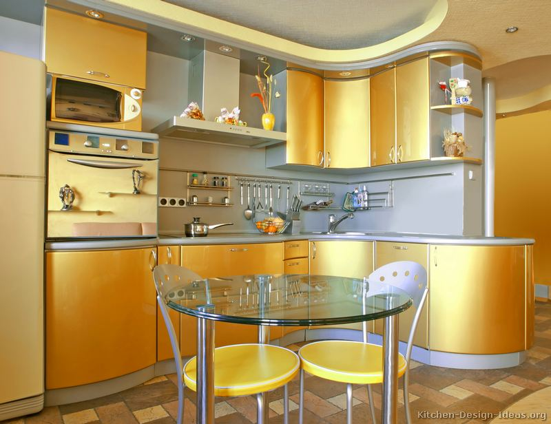 Kitchen Photo Gallery Modern Kitchen Design  Gold Kitchen Cabinets