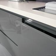 Modern Gray Kitchen