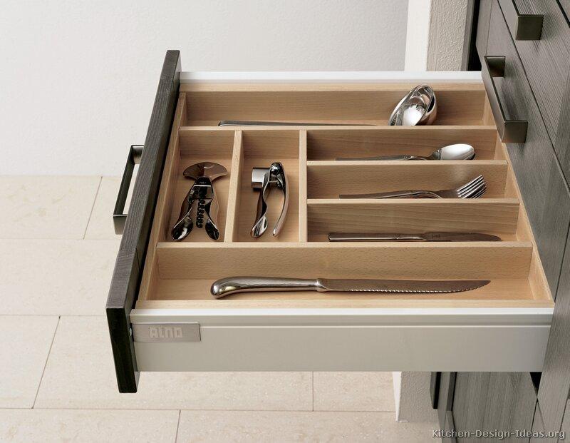 pictures of kitchens - modern - gray kitchen cabinets (kitchen #6)