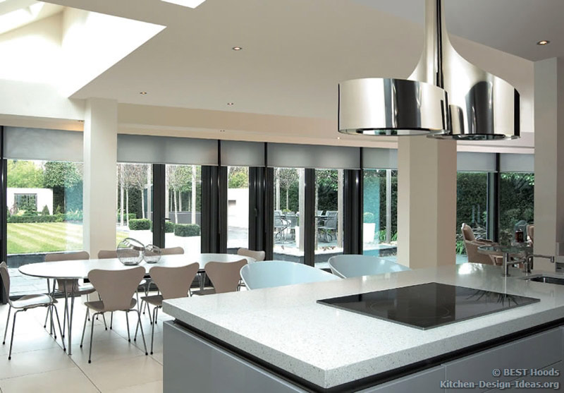 Designer Kitchen Hoods Islands