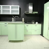 Modern Green Kitchens
