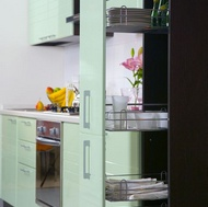 Modern Green Kitchen