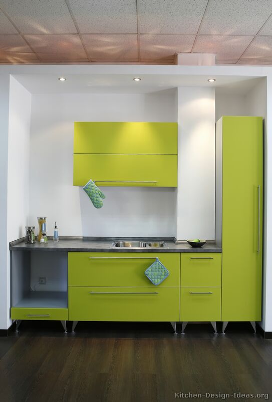 Modern Kitchen Green green kitchen. interior designer portfoliomadeline stuart