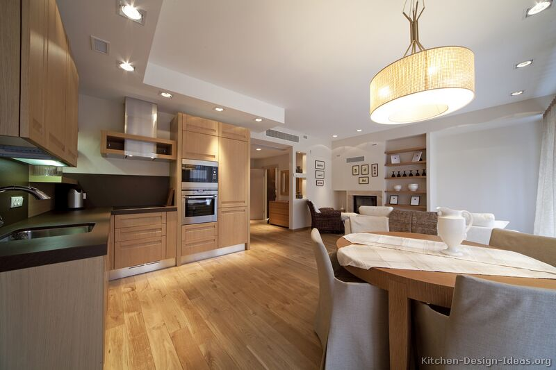 02 [+] More Pictures · Modern Light Wood Kitchen