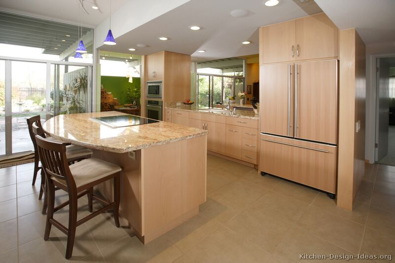Pictures Of Kitchens Modern Light Wood Kitchen Cabinets Kitchen 4